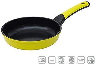 Oursson PF2022C/GA, Sartén de Aluminio fundido con recubrimiento cerámico 20 cm de diámetro, Antiadherente, 4,7 cm de altura, Para todo tipo de cocina, Color verde.