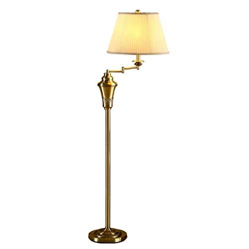 N/Z Wohngeräte Stehlampe Nordic Stehlampe Einfache Dekoration Home Wohnzimmer Arbeitszimmer Stehlampe Vertikale Stehleuchte Stehlampe Stehleuchte (Farbe: Gold)
