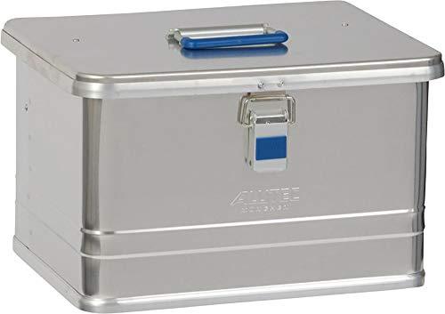 Alutec Transportkiste Comfort 30 - Aluminium Box 30 Liter mit Deckel verschließbar