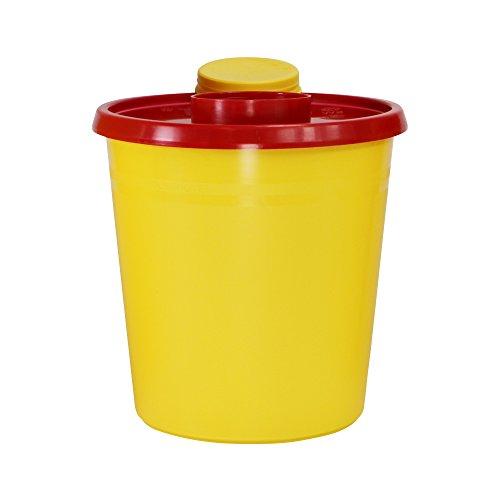 Abwurfbehälter für Kanülen und Spritzen verschiedene Größen, Fassungsvermögen:1500 ml