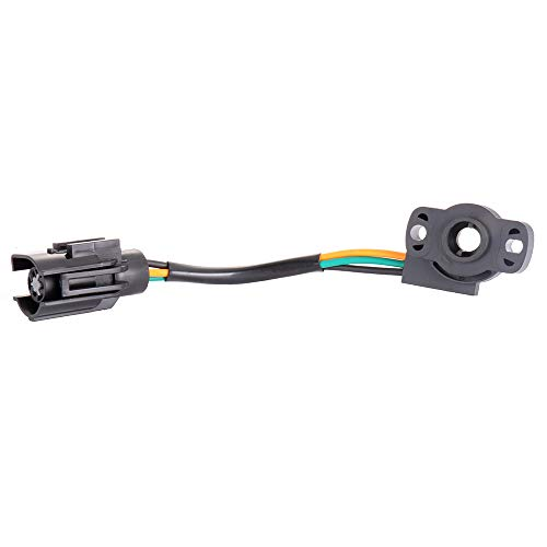 ECCPP Throttle Position Sensor TPS Fit for Ford Bronc, for Ford F-150 F-250 F-350, for Ford E-150 E-250 E-350 Econoline, for Ford E-250 E-350 Econoline Club Wagon 12339051 12339049 Throttle Sensor