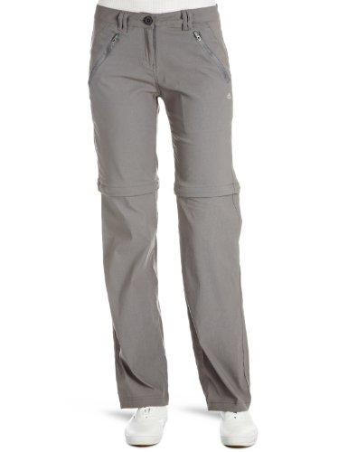 Craghoppers Kiwi Pro Pantalon de randonnée pour Femme, Couleur Gris, CWJ987L 0N214L, Platine, 14 Long