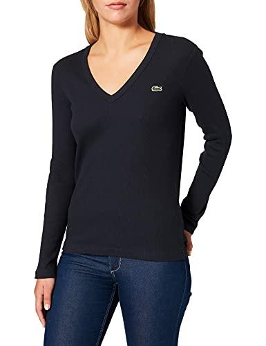 Lacoste TF2317 Tee-Shirt, Abimes, 42 Femme