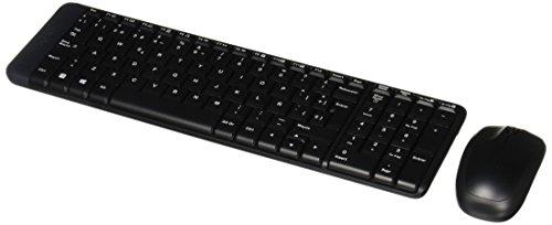 Logitech - Mk220 - Combo De Mouse Y Teclado Inalámbricos - Negro