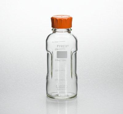 Pyrex Slimline Media Bottle Easy Pour Corning 125ML Glass