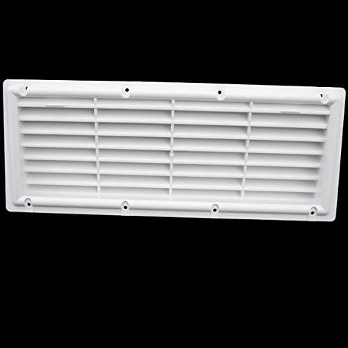 Lüftungsgitter Kühlschrank Wohnwagen Wohnmobil Caravan Boot Kunststoff weiß 374 x 148 mm