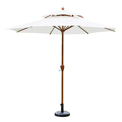 Parasoles 9ft (2.7m) Patio Garden Umbrella - Sombrilla al Aire Libre Tienda...