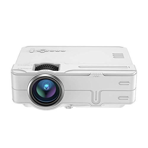 Mini proyector mini proyector de pantalla 4K Ultra HD Calidad de imagen inteligente WiFi proyector móvil inalámbrico portátil de cine en casa es compatible con dispositivos de almacenamiento externo L