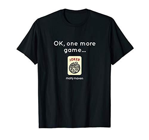 OK, one more game! Mahjong (mahj jong) T-Shirt