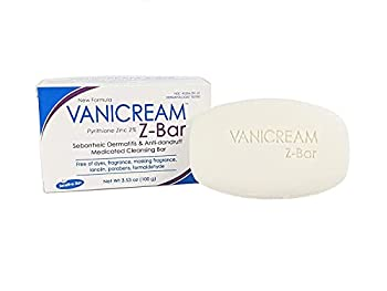 Vanicream Z-Bar | Medicated Cleansing Bar for Sensitive Skin | Maximum OTC Strength Zinc Pyrithione 2% | Helps Relieve Itching Redness and Flaking | 3.53 Ounce