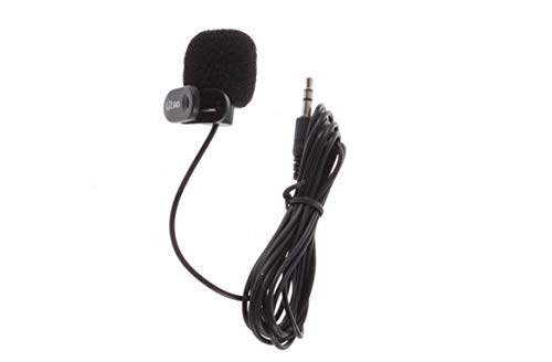 Microfone de Lapela P2 para Pc Desktop ou Notebook