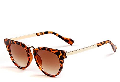 Mantimes Niños Niños Gafas de sol Dazzle Color Gafas de Sol Ojo de Gato Protección UV Ojo Anti Brillo Gafas de Sol para Ciclismo Bicicleta Bicicleta Pesca Conducción Gafas de Sol (Marrón) (Marrón)