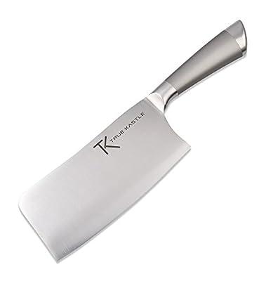 7 Inch True Kastle Meat Cleaver - Butcher Knife - Vegetable Chopper - Chinese Vegetable Cleaver - Cleaver Knife - Stainless Steel Kitchen Knife