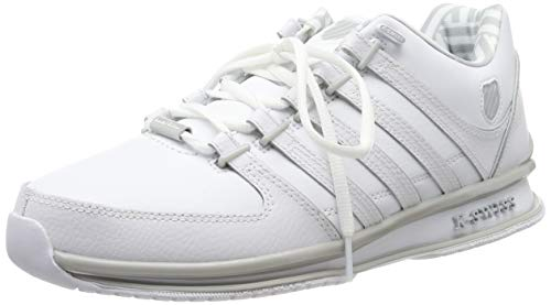 K-Swiss Herren Rinzler SP Sneaker, Weiß (White/Gray Violet 153), 43 EU