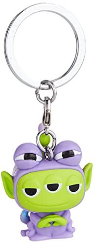 Funko- Pop Keychain: Pixar-Alien as Randall Anniversary Figura Coleccionable, Multicolor, One Size (49605)