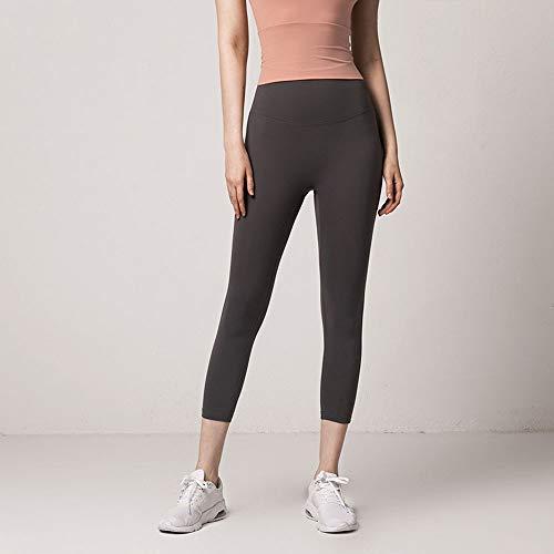 Pantalones de yoga de color liso para mujer Pantalones de corte ajustado Pantalones de moda de primavera y verano para correr Pantalones de fitness para mujer