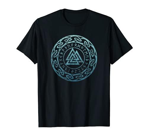 Valknut, Odin, symbole celtique, Viking, mythologie nordique T-Shirt