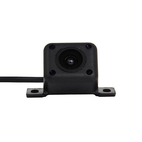 Pathson Caméra de Recul Imperméable à l'eau Voiture de Vision 170° 4 IR Lampes Nuit Vue Arrière