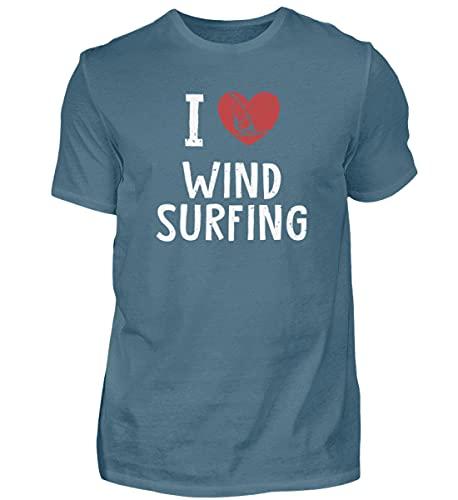 Windsurfen Wassersport   01018 - Camiseta para hombre Color azul. XXL