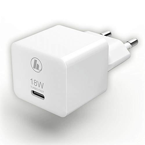 Hama Mini18 00188350 USB-Ladegerät Steckdose Ausgangsstrom (max.) 3000 mA 1 x USB-C™ Buchse