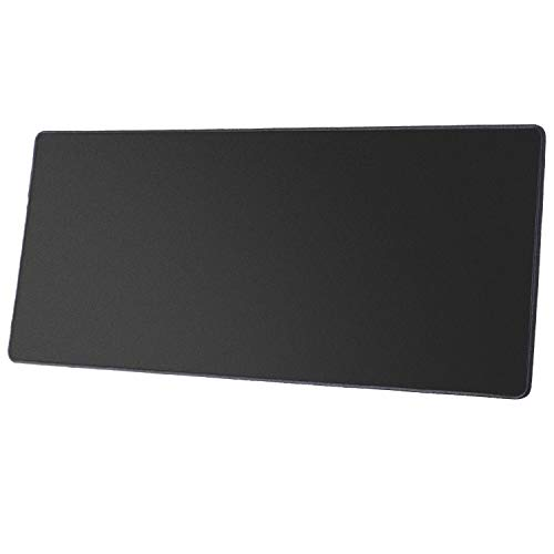Gaming Mouse Pad 900 x 300 x 3mm Black Large Computer Mouse Mat Stitched...