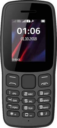 I KALL K100 Keypad Mobile (Without Camera, Dual Sim) (Black)