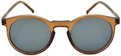 Kadın Yuvarlak Kahverengi Güneş Gözlüğü