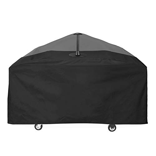 Unicook Griddle CoverforBlackstone 36 Inch ProSeriesGrill, Flat Top Cooking Station Cover with Sealed Seam, Heavy Duty Waterproof LargeGrillCover, Includes Support Pole to Prevent Water Pooling