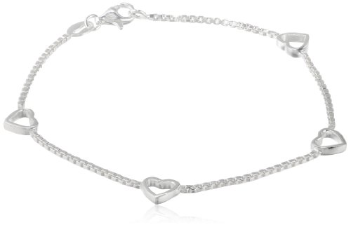 Baseball Charm. 18-Inch Rhodium Plated Necklace with 4mm Light Amethyst Birthstone Beads and Sterling Silver Saint Rita