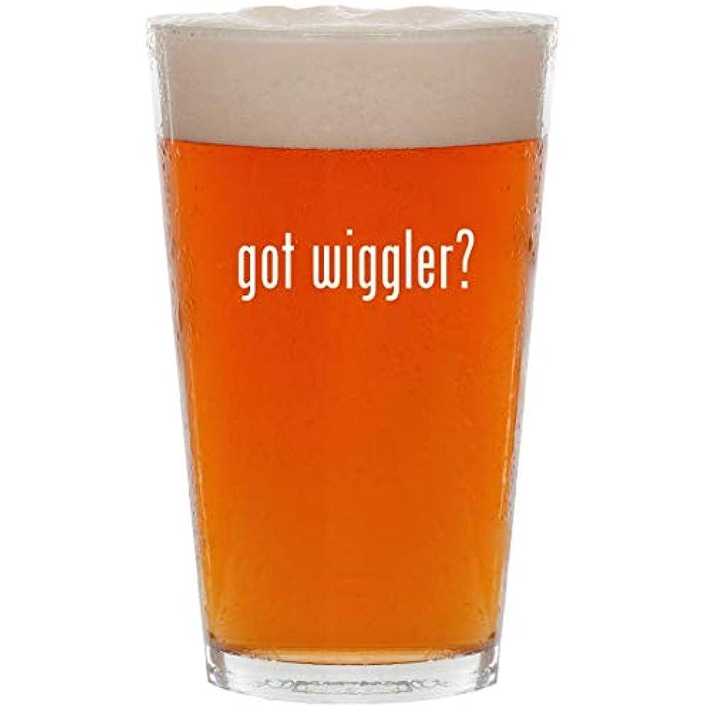 got wiggler? - 16oz All Purpose Pint Beer Glass