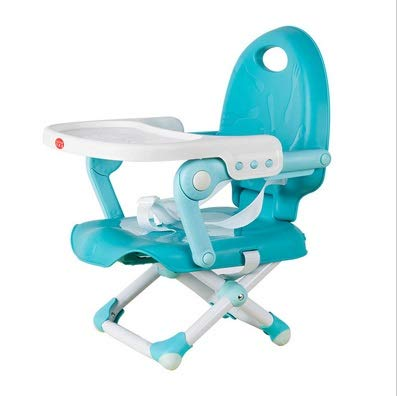 Lowest Price! JXSHQS Foldable Baby Booster Chair Desk Dining Chair with Plate Infant High Table Mult...