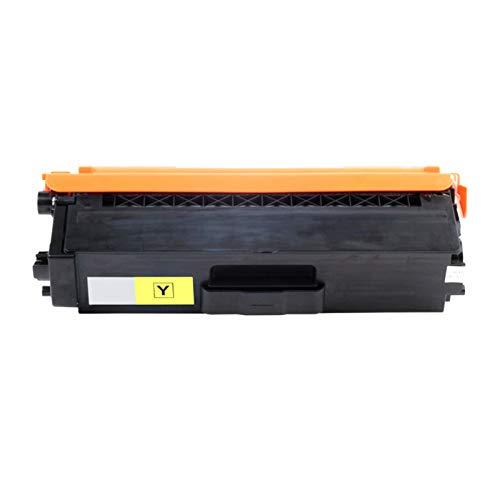 CUXU Adecuado para el reemplazo del Cartucho de tóner de Brother TN-336, para HL-L8250CDN / L8350CDW / L8350CDWT, MFC-L8600CDW, MFC-L8850CDW, impresoras DCP-L8450CDW (Paq Yellow