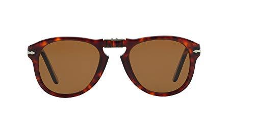 Persol Icons Gafas de sol, Marrón (Havana/Brown), 54 Unisex-Adulto