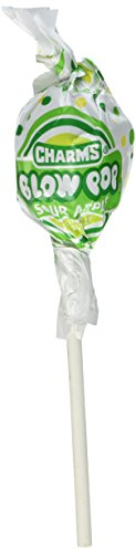 Blow Pops Sour Apple Pack of 48