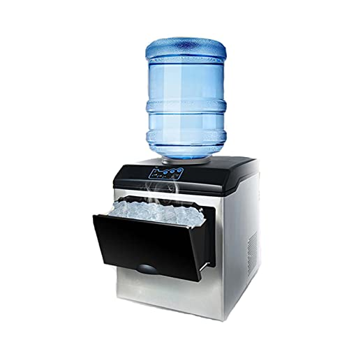 YX 160W MAQUETADOR DE Ice 1.5 Kg Capacidad DE Almacenamiento ICEA PEQUEÑO Agua MÁS PEQUEÑO MAQULADOR DE Hielo Redondo Adecuado para CASA BARRES, COCINAS, OFICINAS