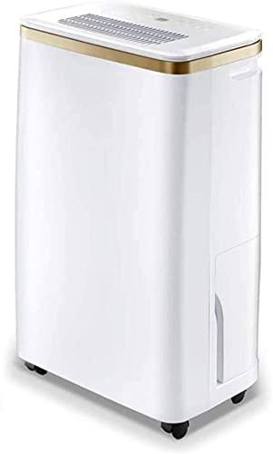Deumidificatore elettrico, deumidificatore silenzioso portatile e compatto - per seminterrato, casa, camera da letto, bagno