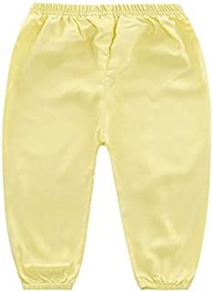 New Childrens Lantern Pants Summer Baby Boy Girl Trousers Kids Cotton Silk Mosquito Swaddles Cotton Pant Many Color 18M01 1 PCs SeedWorld Pants
