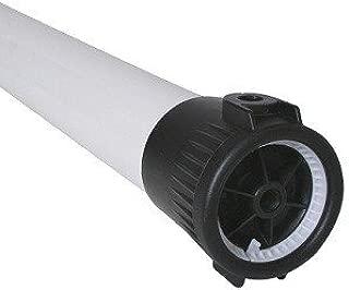 Axeon PVC Series Plastic Glass Reinforced Pressure Vessel, 1 Membranes, 1/2