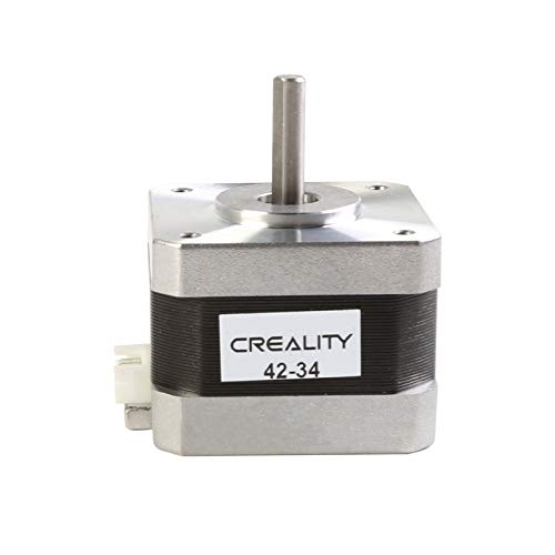 Creality 3D Printer 42-34 Stepper Motor, 2 Fasi 0,8 A 1,8 Gradi 0,4 N.M 42-34 Motore Passo-Passo per Ender-3 Asse X / Y / Z e Asse Z Serie CR-10