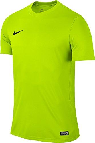 Nike Park VI Camiseta de Manga Corta para hombre, Amarillo, L