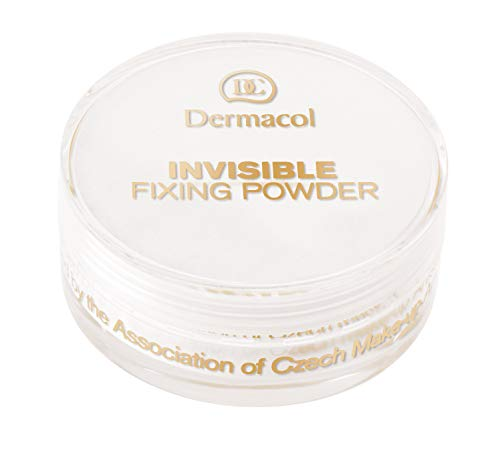 Dermacol Invisible Fixing Powder White, 13 g