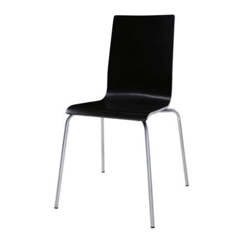 IKEA MARTIN - Presidente, plata color, negro
