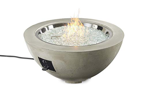 Best Buy! The Outdoor GreatRoom Company Cove Fire Pit with Electronic Ignition (CV-30-CF-DSI-LP), Pr...