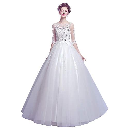 Vestido de Novia para Mujer Vestido de Fiesta de Noche Largo Formal...