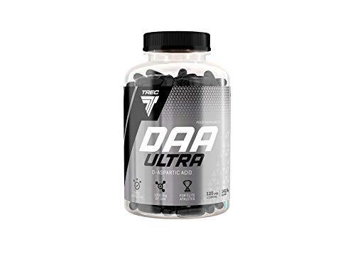 Trec Nutrition DAA Ultra Testosteronbooster Supplement Booster Muskelaufbau Erhöht Testosteronspiegel Bodybuilding 120 Kapseln