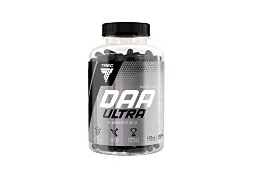 Trec Nutrition DAA Ultra Testosteronbooster Supplement Booster Muskelaufbau Erhöht Testosteronspiegel Bodybuilding 120 Kapseln