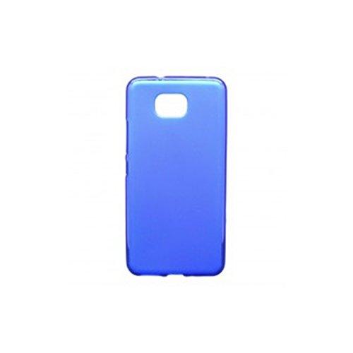 Mb Accesorios Funda Carcasa Gel Azul para BQ AQUARIS U2/U2 Lite, Ultra Fina 0,33mm, Silicona TPU de Alta Resistencia y Flexibilidad