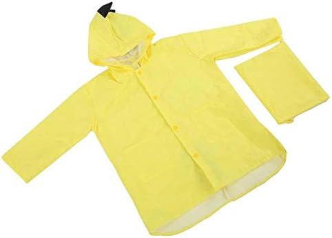 Waterproof Girl Boy Cartoon Rainwear Spring Autumn Rain Coat Lichtgewicht en draagbaar voor meerdere seizoenen voor kinderen leeftijd 5 tot 7 voor kinderen