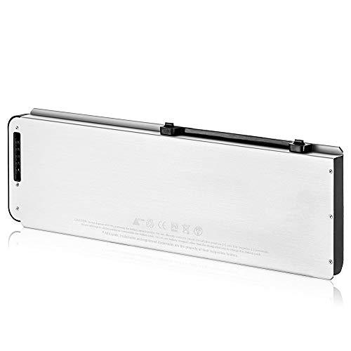 """SLODA Batería de Repuesto de Portátil para Macbook Pro 15"""" A1281 A1286 (Late 2008 Versión) MacBook Pro 15 A1281 Batería de RepuestoAluminio Unibody [Li-Polymer 10.8V 5000mAh]"""
