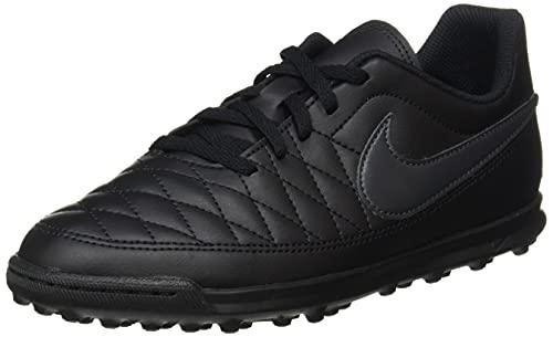 Nike Jr Majestry Tf, Scarpe da Calcetto Indoor Unisex-Adulto, Multicolore (Black/Anthracite/Black 001), 38.5 EU